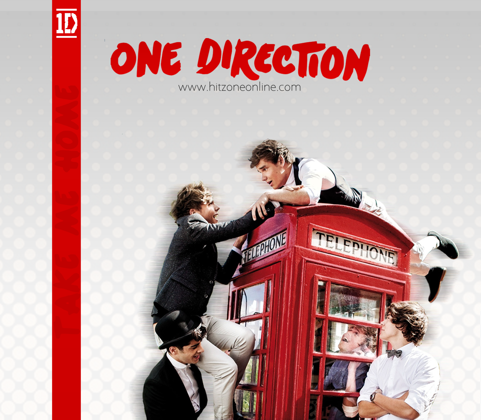 1d Zone Exclusive One Direction Take Me Home Wallpaper